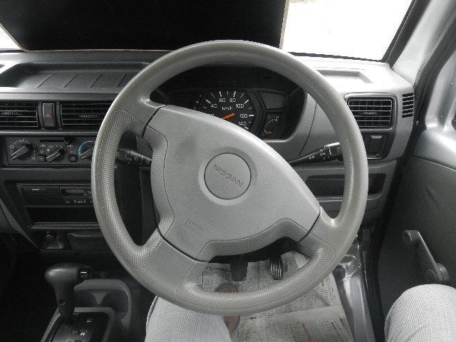日産 NV100クリッパーバン エアコン パワステ オートマチック 両席エアバッグ ラジオ