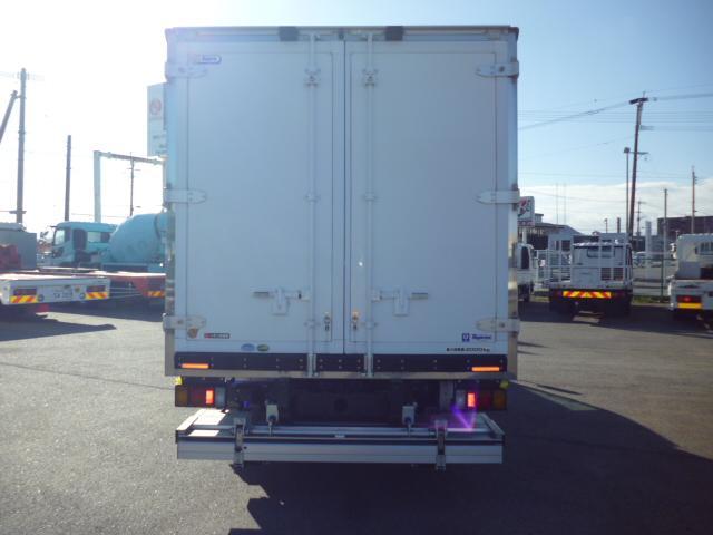 2t低温仕様冷凍車格納ゲート付(5枚目)