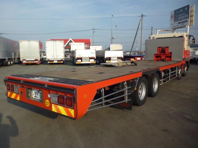 4軸低床重機運搬車(4枚目)