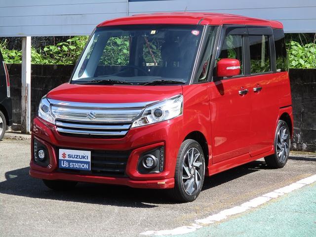 「スズキ」「スペーシアカスタム」「コンパクトカー」「熊本県」の中古車6