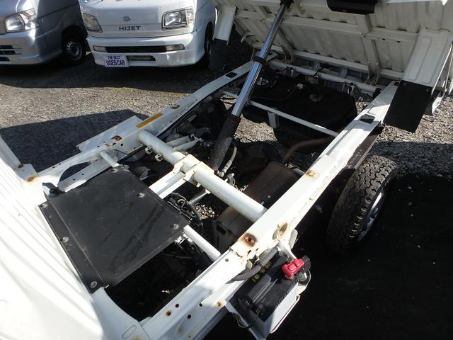 ローダンプ 4WD 5速MT エアコン パワステ エアバック(8枚目)