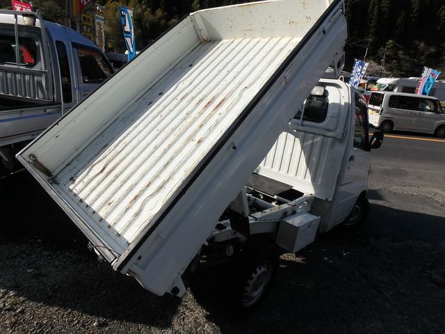 ローダンプ 4WD 5速MT エアコン パワステ エアバック(13枚目)