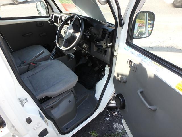 ローダンプ 4WD 5速MT エアコン パワステ エアバック(15枚目)