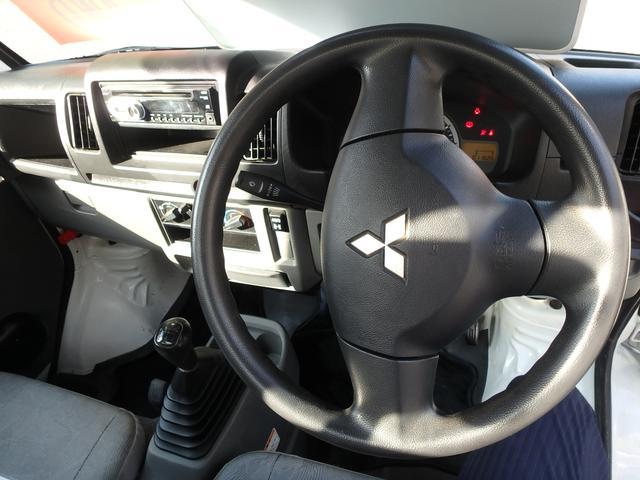 ローダンプ 4WD 5速MT エアコン パワステ エアバック(19枚目)