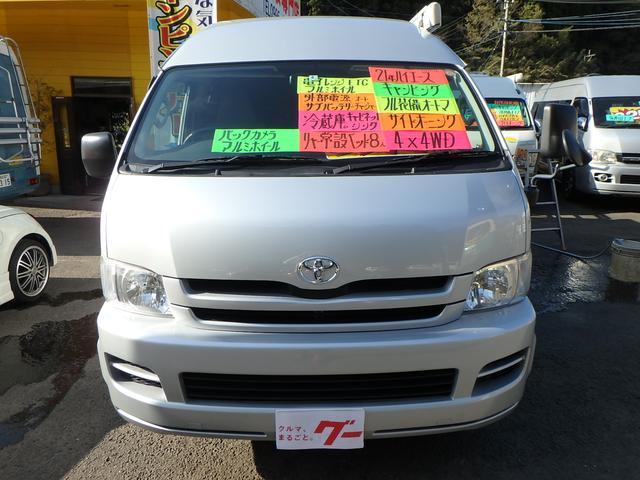 キャンピング メモリーナビ TV 4WD 電子レンジ シンク(2枚目)