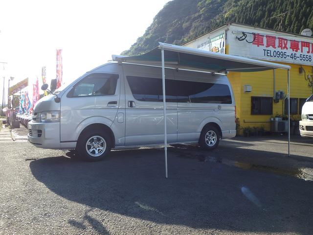 キャンピング メモリーナビ TV 4WD 電子レンジ シンク(24枚目)