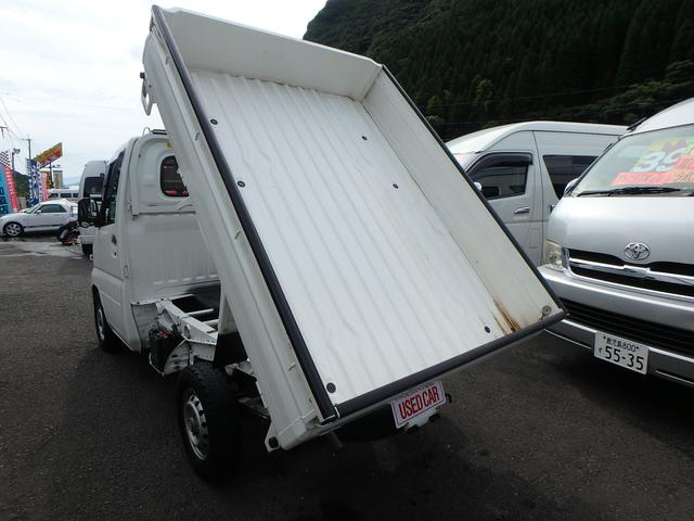 ローダンプ 5速MT 4WD AC PS HI・LOW切替(11枚目)