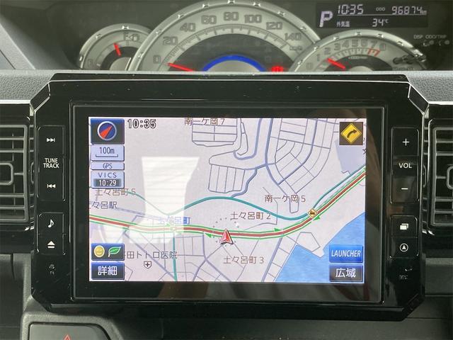 G SA メモリーナビフルセグTV 後席モニター バックカメラ ETC 両側電動スライドドア スマートキー プッシュスターター 衝突軽減ブレーキ アイドリングストップ LEDヘッドライト(6枚目)