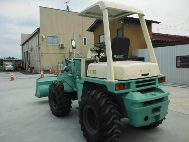 日本その他 日本 日立 4WDホイルローダー 中折れ 652h