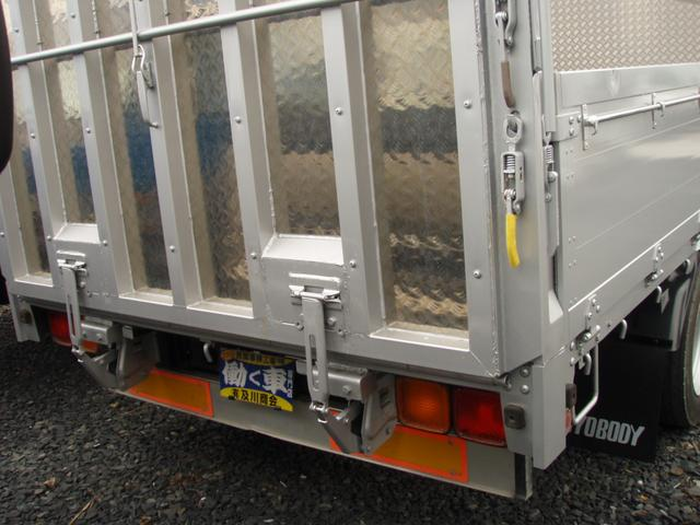 UDトラック 4.15tベース 家畜運搬車 幌付き(15枚目)