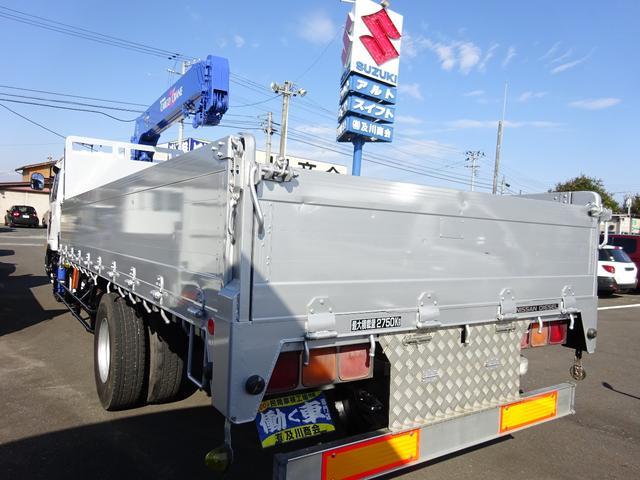 日産ディーゼル コンドル 2.75t 4段クレーン フックイン