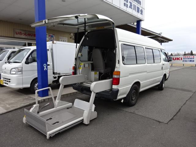 福祉車輌 4WD 車イス2基固定装置(16枚目)