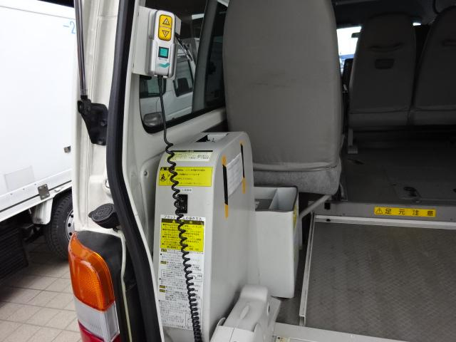 福祉車輌 4WD 車イス2基固定装置(19枚目)