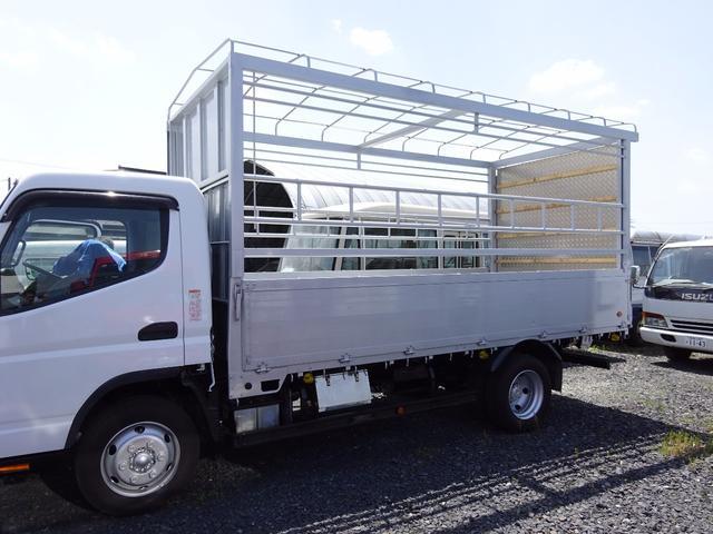 三菱ふそう キャンター 3tベース 家畜運搬車 オートマ