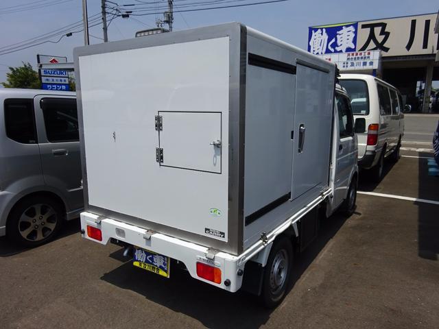 スズキ キャリイトラック -5度 移動販売冷凍車 スタンバイ付