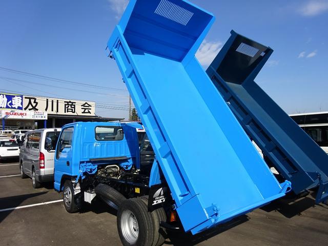 いすゞ エルフトラック 2t 高床強化ダンプ