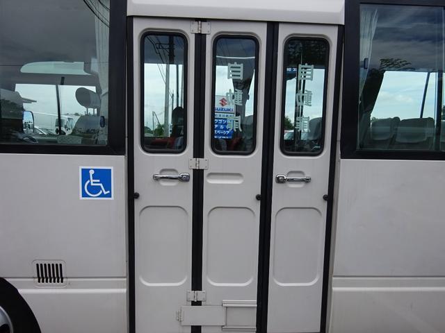 日産 シビリアンバス 福祉車両 車イス2基 23人乗り