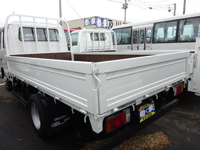いすゞ エルフトラック 2t ロング Wキャブ 6人乗り