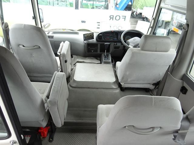 福祉車両 車イス用リフト付 自動扉ステップ 24人乗(8枚目)