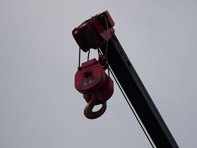2t ロングユニック 3段クレーン 2.33t吊り(7枚目)