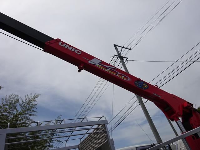 2t ロングユニック 3段クレーン 2.33t吊り(8枚目)