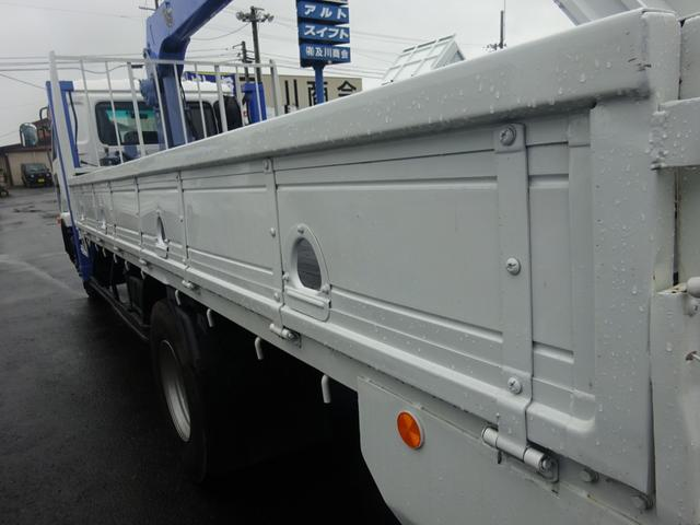 2.7t セルフ重機回送車 タダノ4段ロングジャッキー(10枚目)