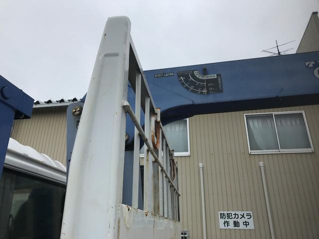 2.7t セルフ重機回送車 タダノ3段ロングジャッキ(9枚目)