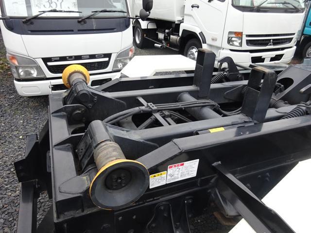アームロール 3.75t 脱着装置付コンテナ専用車 ターボ 6速マニュアル(5枚目)