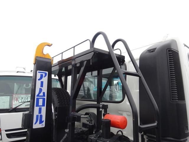 アームロール 3.75t 脱着装置付コンテナ専用車 ターボ 6速マニュアル(11枚目)