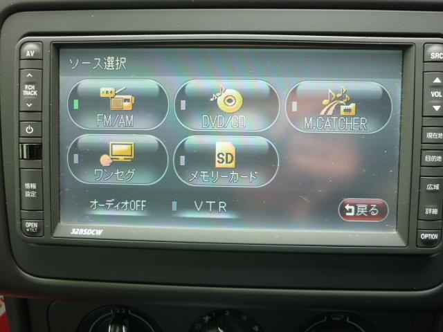 フォルクスワーゲン VW ポロ TSIコンフォートライン 2011年モデル 純正ナビ