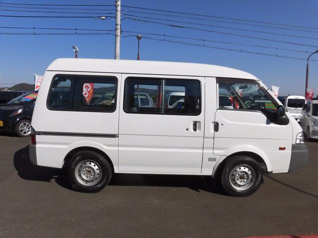 マツダ ボンゴバン DX 切替4WD 5ドア ハイルーフ 2/5人乗り SDナビ