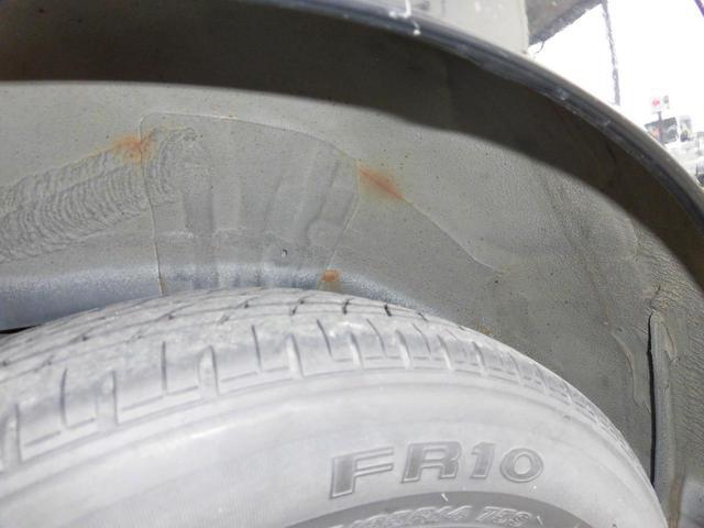 ダイハツ車はリヤフレームが腐食しやすいのでリヤタイヤの裏側を見てください!