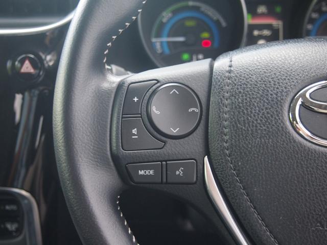 ハイブリッド 純正ナビ フルセグ Bluetooth Bカメ ETC トヨタセーフティセンス ウインカーミラー クルコン 革巻きハンドル 車線逸脱警報 修復歴なし 取説有 保証付き(28枚目)