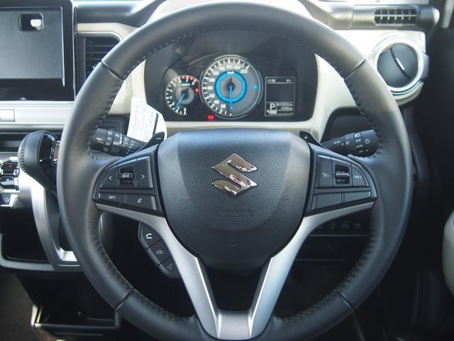 ハイブリッドMZ デュアルカメラブレーキサポート 社外ナビ フルセグ Bカメ Bluetooth対応 横滑り防止機能 USBポート 車線逸脱警報 左右シートヒーター 革巻きハンドル 修復歴無し 保証付き(24枚目)