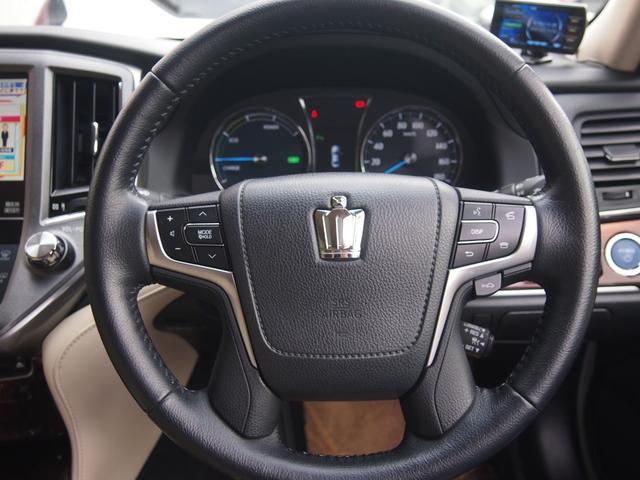 ロイヤルサルーン 衝突被害軽減ブレーキ 純正HDDナビ Bカメ ETC Bluetooth対応 シートヒーター ステアリングヒーター クルコン クリアランスソナー 革巻きハンドル 修復歴無し 保証付き(28枚目)