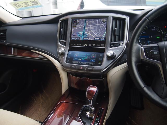 ロイヤルサルーン 衝突被害軽減ブレーキ 純正HDDナビ Bカメ ETC Bluetooth対応 シートヒーター ステアリングヒーター クルコン クリアランスソナー 革巻きハンドル 修復歴無し 保証付き(40枚目)