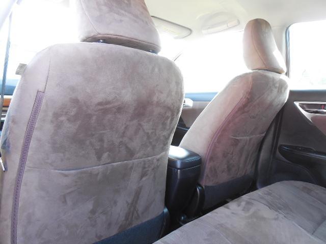 前席後ろにバックポケット付です。