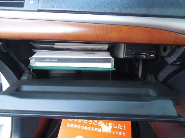 助手席側グローブボックスです。ETC装着しています。