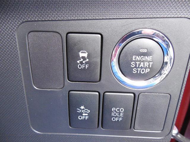 カスタム XスマートセレクションSA LEDヘッドライトフォグランプアイドリングストップ衝突軽減ブレーキ前方誤発進抑制先行車発進おしらせ(25枚目)
