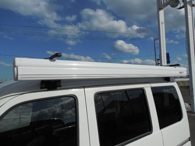 DX SAIII キャンピング4WD衝突軽減ブレーキ車線逸脱警報前後誤発進抑制先行車発進おしらせオートハイビーム横滑り防止装置アイドリングストップLEDヘッドライトオーバーヘッドコンソールハイルーフサイドオーニング(10枚目)