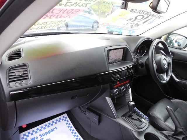 XD Lパッケージ スカイアクティブディーゼルターボ4WDSDナビフルセグ本革シート運転席パワーシート前席シートヒーターアイドリングストップクルーズコントロールリアビークルモニタリングシステム(9枚目)
