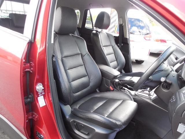 XD Lパッケージ スカイアクティブディーゼルターボ4WDSDナビフルセグ本革シート運転席パワーシート前席シートヒーターアイドリングストップクルーズコントロールリアビークルモニタリングシステム(10枚目)