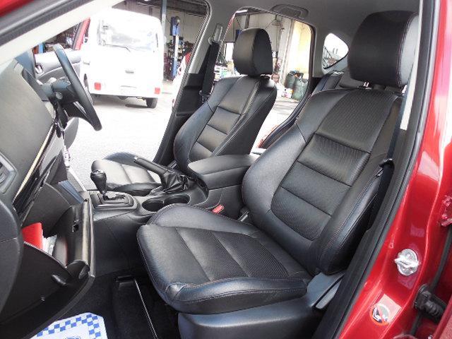 XD Lパッケージ スカイアクティブディーゼルターボ4WDSDナビフルセグ本革シート運転席パワーシート前席シートヒーターアイドリングストップクルーズコントロールリアビークルモニタリングシステム(12枚目)
