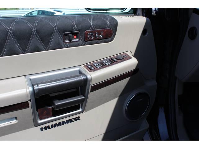 ハマー ハマー H2 ラグジュアリーパッケージ HDDナビ レザー サンルーフ