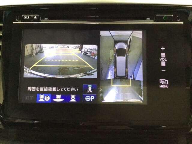 ハイブリッドアブソルート・ホンダセンシングEXパック 7人乗り ワンオーナー 禁煙 全周囲 衝突軽減 地デジ LED 1オナ 禁煙車 ETC リアモニター オットマン バックカメラ(9枚目)