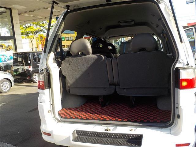 三菱 デリカスペースギア シャモニー4WD7人乗りワンオーナー