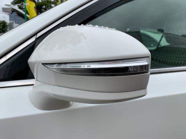 安全とデザインの両立。ドアミラーウィンカーです。
