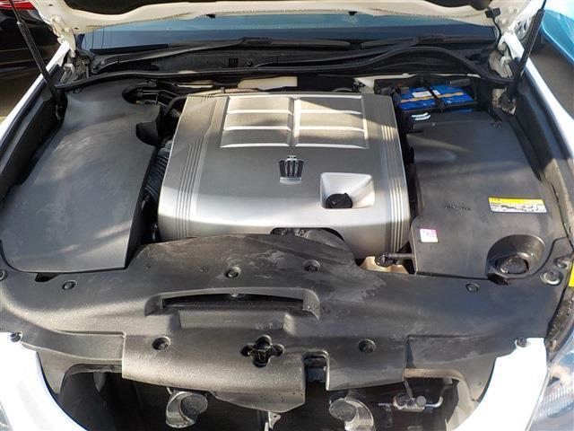 2.5リッターエンジンと6速ATで余裕の走りです。