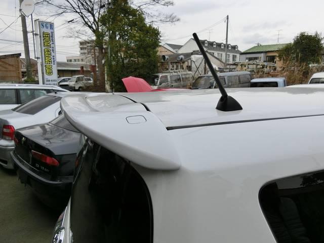 トヨタ ラクティス Gナビ純正エアロ16インチアルミ