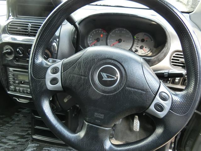 ダイハツ ムーヴ エアロダウンRSインタークーラーターボ 4WD